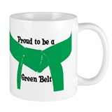 Proud to be a Green Belt Coffee Mug