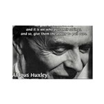 Mysticism Aldous Huxley Rectangle Magnet