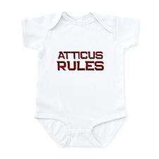 atticus rules Infant Bodysuit