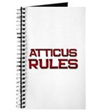 atticus rules Journal