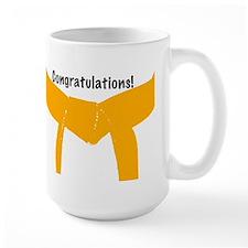Martial Arts Congratulations Orange Belt Mug