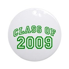 Class of 2009 (Green) Ornament (Round)