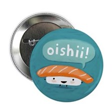 "Oishii Sushi 2.25"" Button (100 pack)"