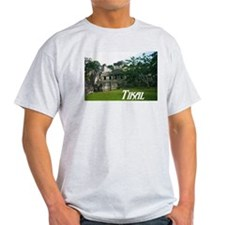 Tikal Courtyard Ash Grey T-Shirt