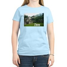 Tikal Courtyard Women's Pink T-Shirt