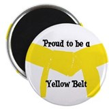 Proud to be a Yellow Belt Magnet