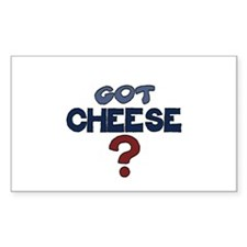 Got Cheese 5x3 Decal