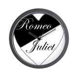 Romeo and Juliet 2 Wall Clock
