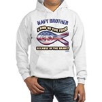Navy Brother Hooded Sweatshirt