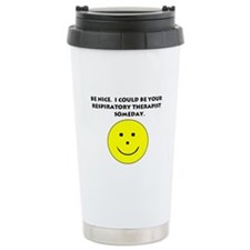 Respiratory Therapist Gifts Ceramic Travel Mug