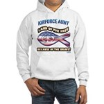 Airforce Aunt Hooded Sweatshirt