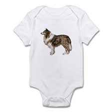 Vintage Collie Infant Bodysuit