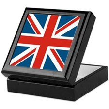 British Flag Keepsake Box
