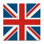 British Flag Tile Coaster