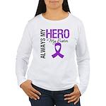 Pancreatic Cancer Sister Women's Long Sleeve T-Shi