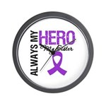 Pancreatic Cancer Sister Wall Clock