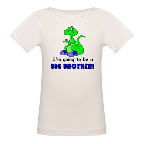 I'm Going to be a Big Brother Organic Baby T-Shirt