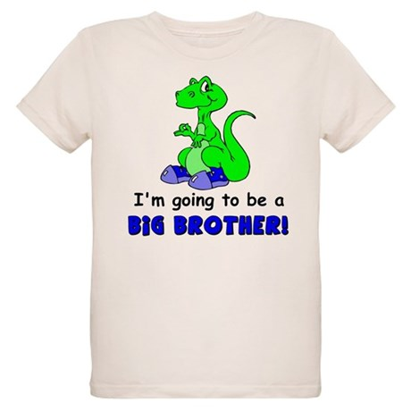 I'm Going to be a Big Brother Organic Kids T-Shirt