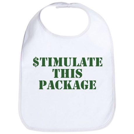 Stimulate This Package Bib