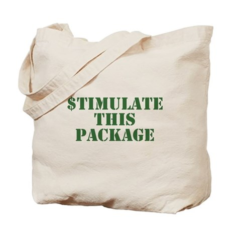 Stimulate This Package Tote Bag