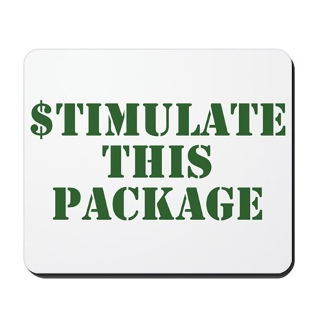 Stimulate This Package Mousepad