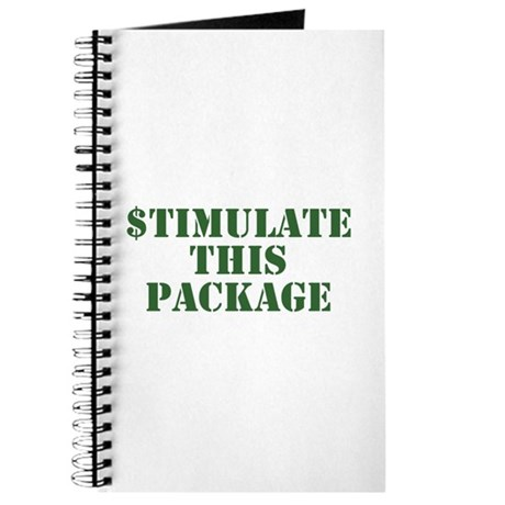 Stimulate This Package Journal
