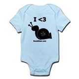 I &amp;lt;3 Turbo Snail - Onesie by BoostGear
