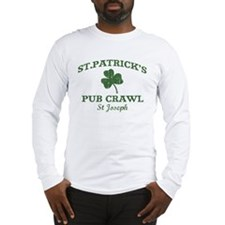 St Joseph pub crawl Long Sleeve T-Shirt