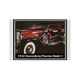"""1932 Duesenberg"" Rectangle Magnet (10 pack)"