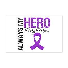 Pancreatic Cancer Mom Mini Poster Print