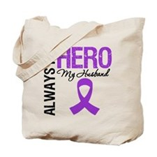 Pancreatic Cancer Husband Tote Bag
