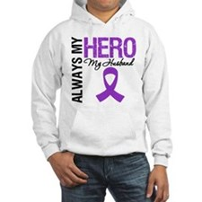 Pancreatic Cancer Husband Hoodie