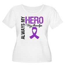 Pancreatic Cancer Grandpa T-Shirt