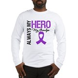 Pancreatic Cancer Grandpa Long Sleeve T-Shirt
