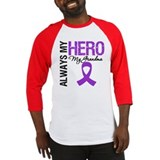 Pancreatic Cancer Grandma Baseball Jersey