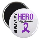 "Pancreatic Cancer Grandma 2.25"" Magnet (100 pack)"