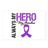 Pancreatic Cancer Grandma Postcards (Package of 8)