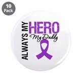 "Pancreatic Cancer Daddy 3.5"" Button (10 pack)"