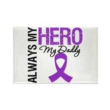 Pancreatic Cancer Daddy Rectangle Magnet