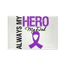 Pancreatic Cancer Dad Rectangle Magnet (10 pack)