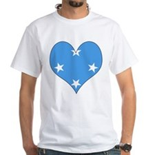 I Love micronesia Shirt