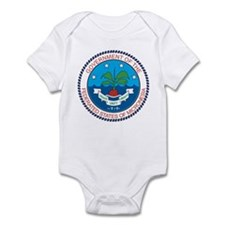 micronesia Coat of Arms Infant Bodysuit