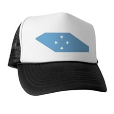 micronesia Flag Map Trucker Hat