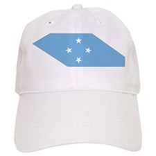 micronesia Flag Map Baseball Cap