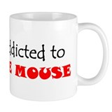 ADDICTED TO THE MOUSE WDW Disney World Small Mug