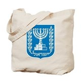 Israel Coat of Arms Tote Bag