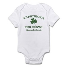 Redondo Beach pub crawl Infant Bodysuit