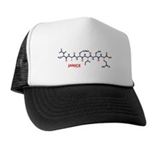 Janice name molecule Trucker Hat