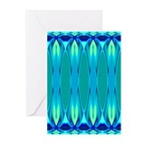 'Cyan Nights' Greeting Cards (10 Pk)