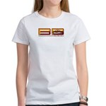 Commemorative 2007 PPBB Women's White T-Shirt